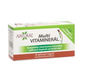 MULTI Vitaminerál - 30 kapsúl