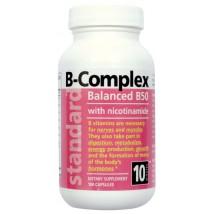 Vitamín B - komplex - 50 mg - 100 kapsúl