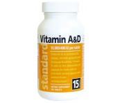 Vitamín A&D - 10 000/400 IU - 100 tabliet