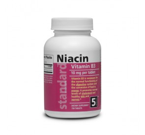 Vitamín B3 - Niacin - 10 mg - 750 tabliet