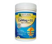 CalMag - vápnik + horčík + C + D3 - práškový - 150 g