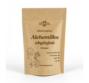 Alchemilka obyčajná - 550 mg - 60 kapsúl