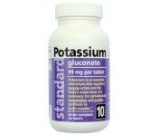Minerál Draslík (Potassium) 99mg - 100 kapsúl