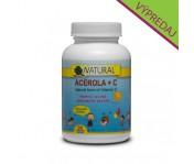 Vitamín C + Acerola pre deti - 90 cmúľacích tabliet