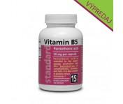 Vitamín B5 - Kyselina pantoténová - 20 mg - 100 kapsúl