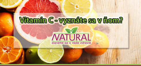 Vitamín C - vyznáte sa v ňom?