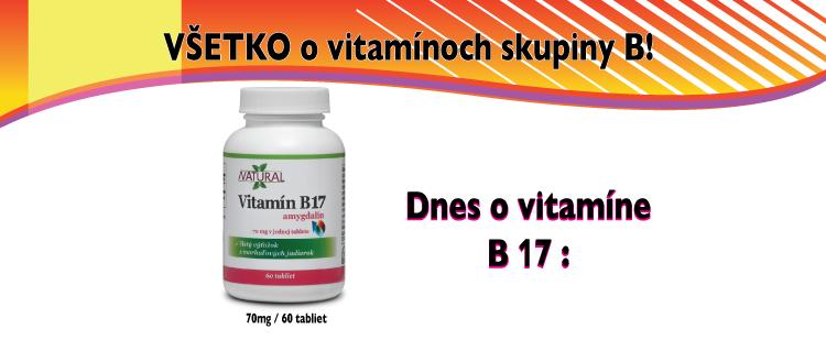 Vitamín B17 - Amygdalín