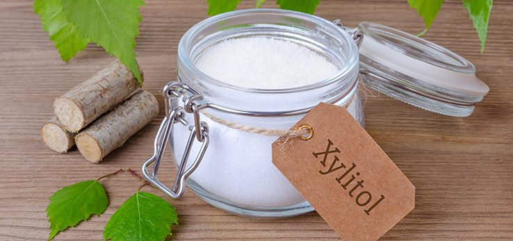 Zdravý orechovo - jogurtový koláč so xylitolom