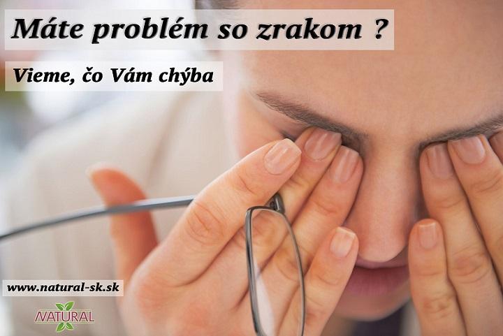 Očné problémy a ochorenia