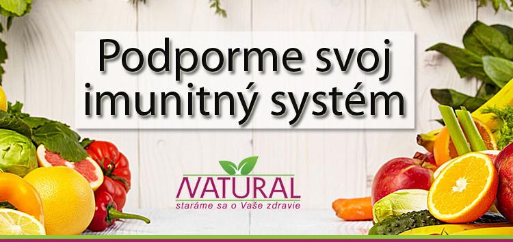 Podporme svoj imunitný systém